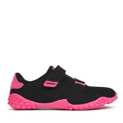 Adidasi sport Lonsdale Fulham Child negru rosu