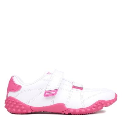 Adidasi sport Lonsdale Fulham Child alb roz