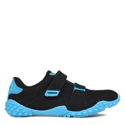 Adidasi sport Lonsdale Fulham Child negru albastru