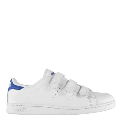 Adidasi sport Lonsdale Leyton pentru Barbati alb albastru roial