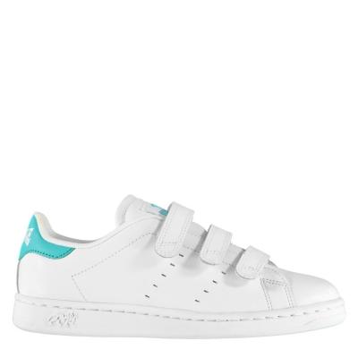 Adidasi sport Lonsdale Leyton pentru copii alb turcoaz