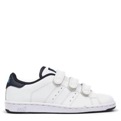 Adidasi sport Lonsdale Leyton pentru Copii alb bleumarin