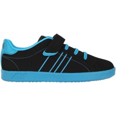 Adidasi sport Lonsdale Oval pentru Copii negru albastru
