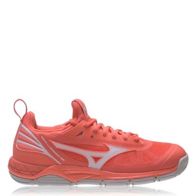 Adidasi sport Mizuno Wave Luminous Netball coral alb