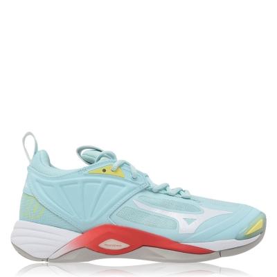 Adidasi sport Mizuno Wave Momentum 2 Netball albastru