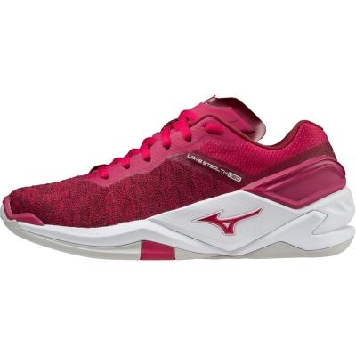 Adidasi sport Mizuno Wave Stealth Neo Netball persian rosu