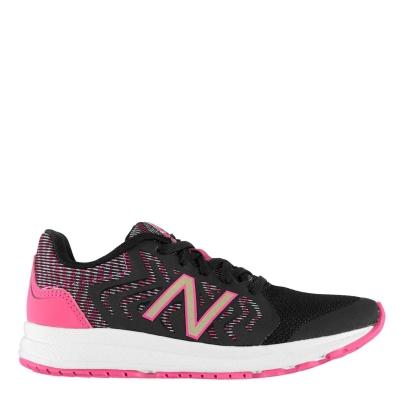 Adidasi sport New Balance 519v2 pentru fetite negru roz