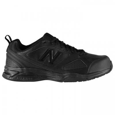 Adidasi sport New Balance 624x4 Indoor pentru Barbati negru