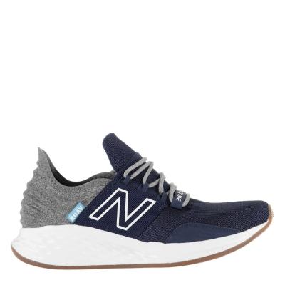 Adidasi sport New Balance Roav pentru baietei bleumarin alb