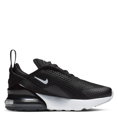 Adidasi sport Nike Air Max 270 pentru Copii negru alb