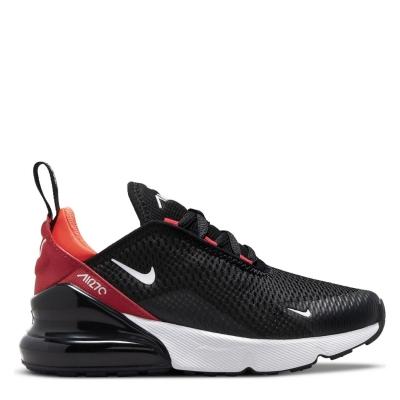 Adidasi sport Nike Air Max 270 pentru Copii negru alb rosu