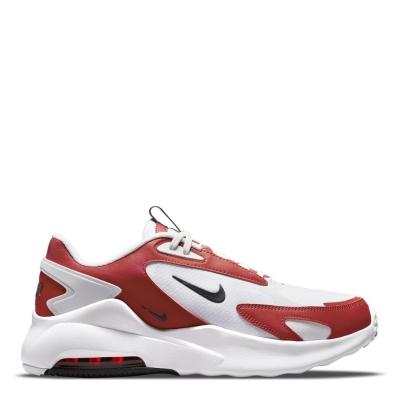 Adidasi sport Nike Air Max Bolt pentru Barbati alb negru rosu