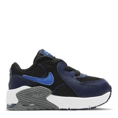 Adidasi sport Nike Air Max Excee baietei negru albastru