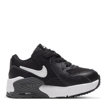 Adidasi sport Nike Air Max Excee baietei negru alb