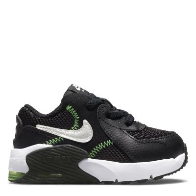 Adidasi sport Nike Air Max Excee baietei negru argintiu verde