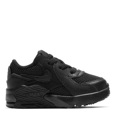 Adidasi sport Nike Air Max Excee baietei triple negru