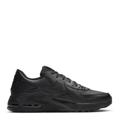 Adidasi sport Nike Air Max Excee pentru Barbati 3x negru piele