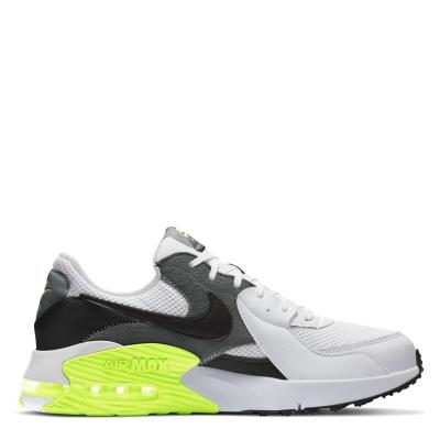 Adidasi sport Nike Air Max Excee pentru Barbati alb negru galben