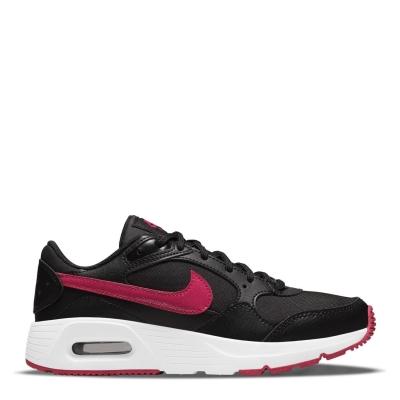 Adidasi sport Nike Air Max SC pentru fetite negru roz inchis se