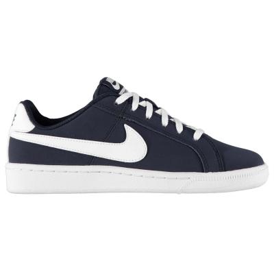 Adidasi sport Nike Court Royale pentru baietei bleumarin alb