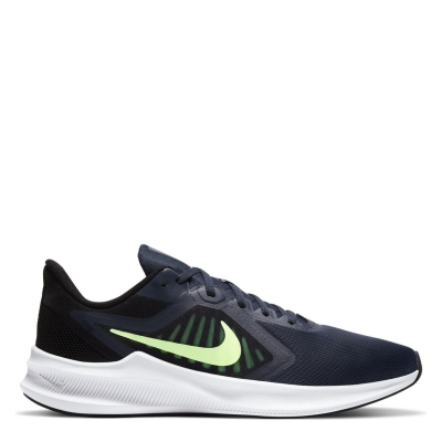 Adidasi sport Nike Downshifter 10 pentru Barbati bleumarin verde lime