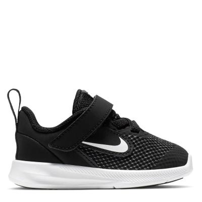 Nike Downshifter 9 / Shoe pentru Bebelusi pentru Bebelusi negru alb