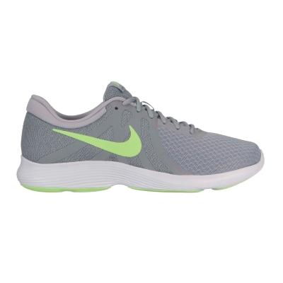 Adidasi sport Nike Revolution 4 pentru Barbati gri verde lime
