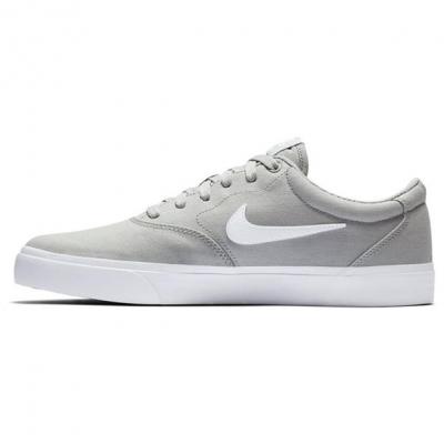Nike SB Charge Premium Skate Shoe gri alb