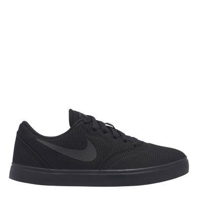 Adidasi sport Nike SB Check Canvas pentru baietei negru