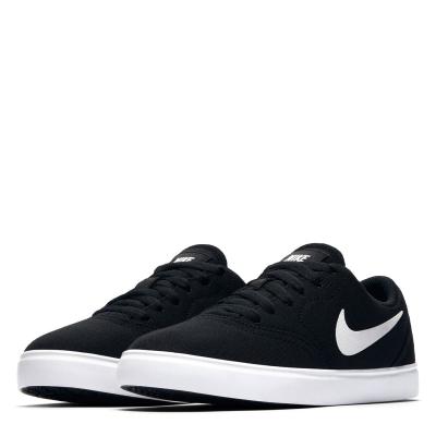 Adidasi sport Nike SB Check Canvas pentru baietei negru alb