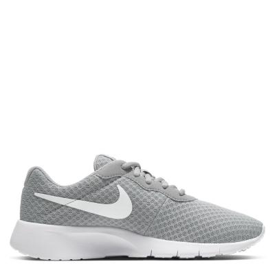 Adidasi sport Nike Tanjun pentru baietei gri alb