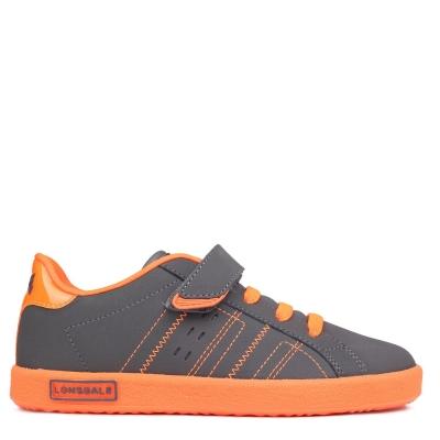 Adidasi sport Lonsdale Oval pentru Copii gri portocaliu