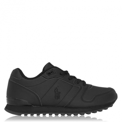 Adidasi sport Polo Ralph Lauren clasic triple negru