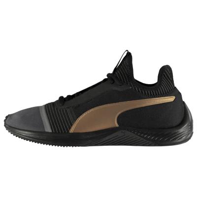 Adidasi sport Puma Amp XT pentru Femei negru auriu