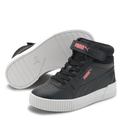 Adidasi sport Puma Carina Mid Child pentru fete negru