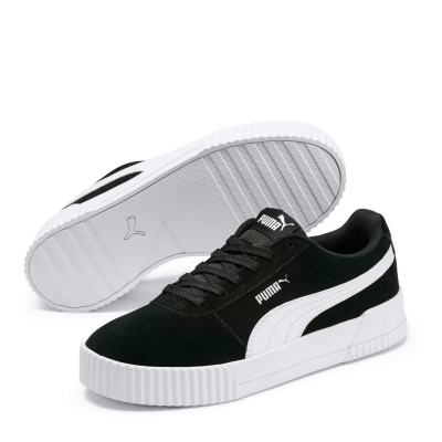 Adidasi sport Puma Carina Suede pentru Femei negru alb