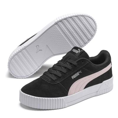 Adidasi sport Puma Carina Suede pentru Femei negru roz