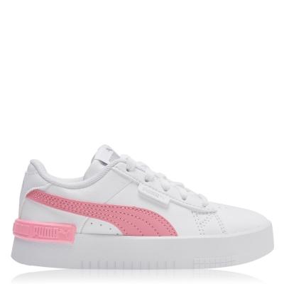 Adidasi sport Puma Jada Court Child pentru fete alb roz