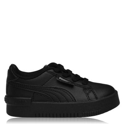 Adidasi sport Puma Jada pentru fete pentru Bebelusi negru