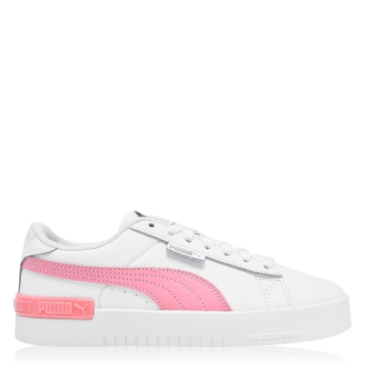 Adidasi sport Puma Jada pentru fetite alb roz