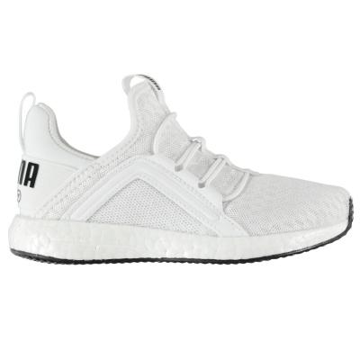 Adidasi sport Puma Mega NRGY baieti alb