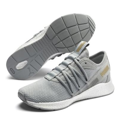 Adidasi sport Puma NRGY Star pentru femei gri auriu