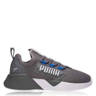 Adidasi sport Puma Retaliate baieti gri albastru