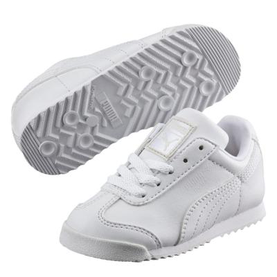 Adidasi sport Puma Roma Basic baietei alb