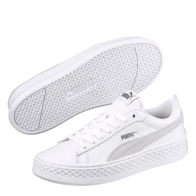 Adidasi sport Puma Smash Platform pentru Femei alb