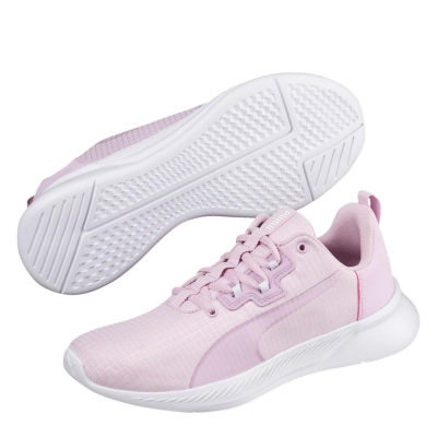Adidasi sport Puma Tishatsu Runner pentru Femei lila alb