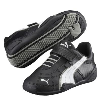 Adidasi sport Puma Tune Cat pentru copii negru alb