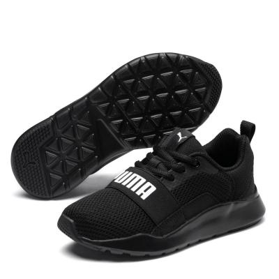 Adidasi sport Puma Wired baieti negru