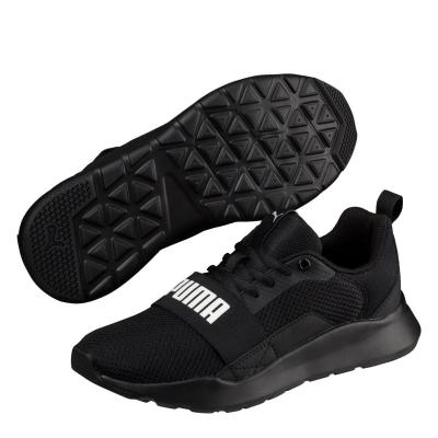 Adidasi sport Puma Wired pentru copii negru