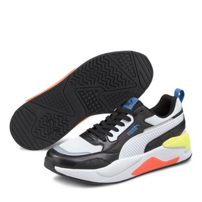 Adidasi sport Puma XRay Squared pentru Barbati negru alb multicolor